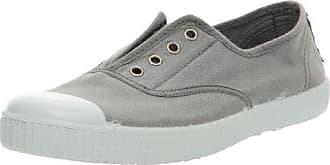 Gris Victoria 38 Tintada Gris Eu Adulte 12 Inglesa Mixte Basses Elastico Punt Sneakers T8qw84PrHx