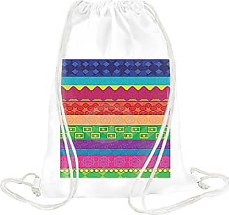 Drawstring Younique Vintage Lines Bag Print 4qURBxnq8
