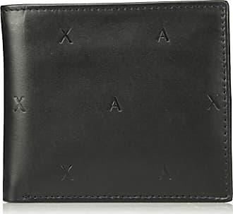 Herren Bifold Cm Geldbörse Case black Coin Armani 10x10x10 Schwarz Agx7d1qw