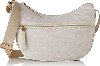 Bag 28x24x11 cream Umhängetasche Luna Centimeters Borbonese Elfenbein Damen Bwxq1xOp