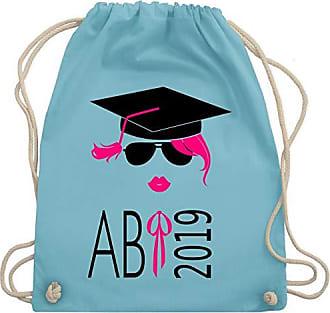 Abiamp; Shirtracer Bag Turnbeutel Hellblau Wm110 AbschlussHipster Kussmund Gym 2019 Unisize 8myvN0Onw