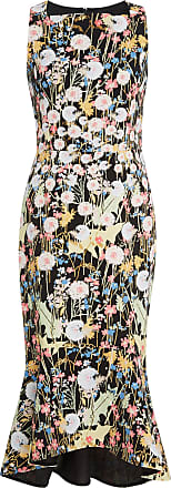 Floral Flared print Pilotto Kia Cady Dress Peter qaOHtTH