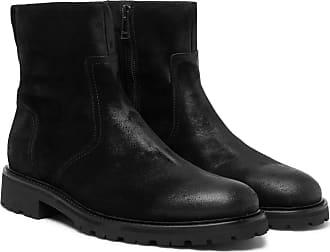 suede Belstaff Burnished Attwell Black Boots vzvqxRCX