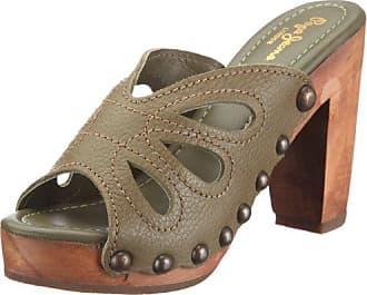 Grün Pepe Damen Green A sandalen London fashion Eu 230 39 Jeans Sandalen olive Isa Isa r7Yrnwxvq1