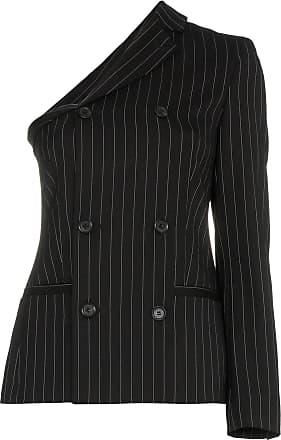 À Moschino Rayé Design Blazer Asymétrique Noir qvAE0x7v