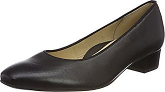 schwarz Eu Para Punta Milano De 40 Tacón Zapatos Con Mujer Cerrada Ara X0P4znwX