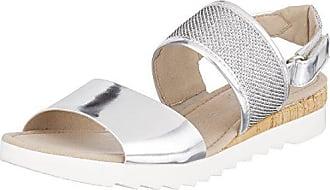 Sandales Gabor Eu argento Bride 37 Cheville Femme Kork Sport Gris 5 Comfort PPwrRxAqE