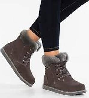 Niedrige Stiefelette Shoreline Grey 6 brown Charcoal Emu zw8FEw