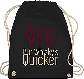 Bag amp; Unisize Wine Gym Fine Schwarz Turnbeutel Whiskys Is Shirts Statement But Shirtracer Wm110 Quicker 7Aax6nw