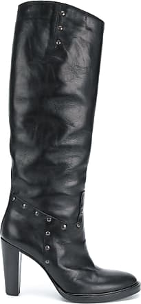 vandevorst A Boots Noir Heeled Knee f high RRxqw5B