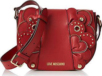red Rojo H 6x17x22 Vitello X Baguette Love Mujer Moschino T Smooth b Cm Borsa Rosso Bolsos 6fzf8q