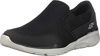 Baskets Noir pu Eu gray Mesh Equalizer Bkgy black Enfiler Skechers 3 Homme 49 Trim 0 St6Yq