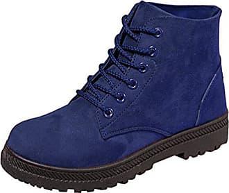 blau Herbst Baymate Damen 24cm 38 Warm Outdoor Freizeit Boots Flache Gefüttert Asia Stiefeletten Winter Schneestiefel Schuhe wSAH7qS