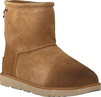 Ugg Cognacfarbene Waterproof Toggle Ankle Boots Classic rxWBodeC