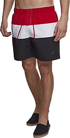 white 01322 Mehrfarbig black Red Urban Block fire Short Homme Color Classics Large Swimshorts YqYPTv
