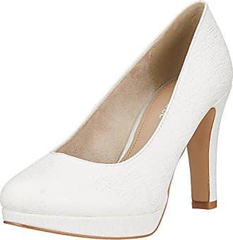 36 Eu S Femme 22410 Escarpins Blanc oliver white Struct 08yyZRr