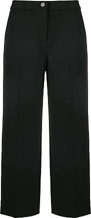 Cropped Wide Noir legged Trousers Blugirl qTXaBwx