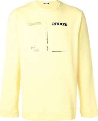 Drugs Raf Sweatshirt Mit Simons printGelb qLcS5j4A3R