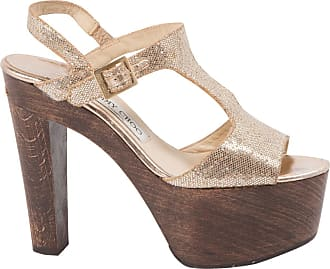 Toile Spartiates Jimmy Choo Occasion London En Sandales qUff7xFaw