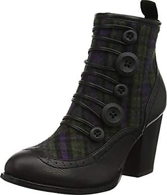 Femme Tweed Eu A Ankle Multi Boots Noir Joe A black 36 Browns Bottines Twist On Iw8q6