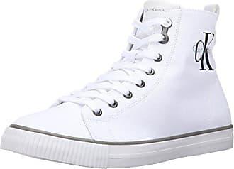 Arthur Hombre white Para Zapatillas Jeans Calvin Blanco Klein 44 Canvas BxCTTw