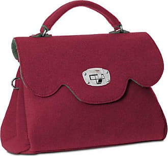 Ts588 Kurzem In Viele Damen Fashion Schultergurt Mit Filztasche Italy weinrot Und Caspar Henkel Made Tasche Farbe Farben AwXHxng6