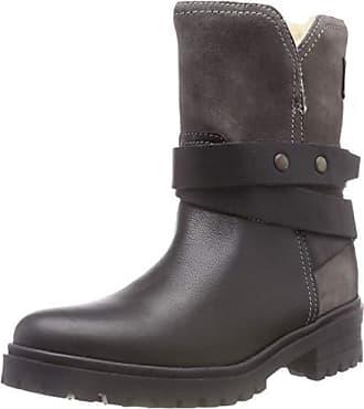 Cleated Jeans Noir 36 Boot Biker Motardes Warm black Tommy Denim 990 Hilfiger Femme Eu Bottes HTaqxddI