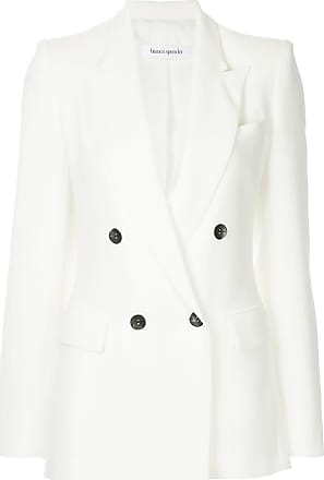 Bianca Esquire Spender Jacket Double Breasted Blanc wppYWrqn