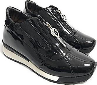 Moschino Damen Schwarz Größe Schwarz 36 Sneaker SSZxqdwr