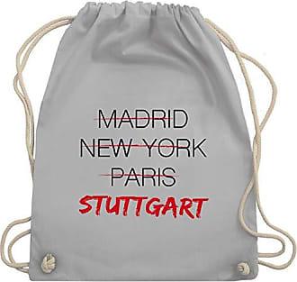 Bag Shirtracer StädteWeltstadt Wm110 Stuttgart Unisize Gym Hellgrau Turnbeutelamp; TPkXiwZuO