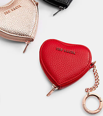 Keyring Purse Heart Ted Coin Leather Baker wqXxAI1