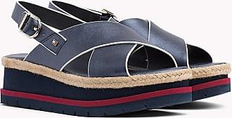 Fr38 Sandales Hilfiger Compensées Croisées Tommy IpOw5qzI