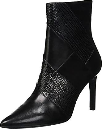 black C9999 E D 37 Eu Noir Geox Faviola 5 Femme Botines YgWZfq