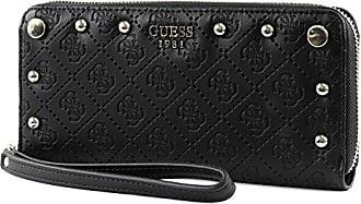 Damen 21x10x2cm black Zip Around To Geldbörse Coast Sg699346 Slg Guess Large q0TRTz