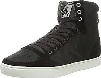 High Adulte Hautes Slimmer black Mixte Hummel Stadil 44 Noir Oiled Mono Sneakers Eu wTOwBqI8