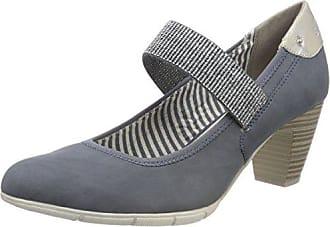 Mujer Para denim Zapatos 37 De Azul oliver S Tacón Comb 24407 Eu wnqOYBqX