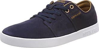 tan Unisex Adulto 455 Azul Zapatillas Supra 42 m 5 white Stacks De Ii Skateboard navy Eu X4YzwFq