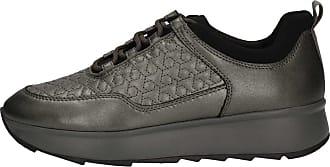 Geox 0bvnf Gris Sneakers D845tc Femme xzgq1R