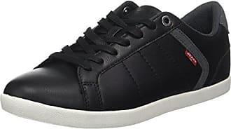 Levi's Loch Herren Derby Black44 SneakersSchwarzregular Eu 2I9WHEDY
