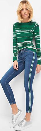 Blau Mit Jeans Orsay Galonstreifen Skinny In iTuOXwPZkl