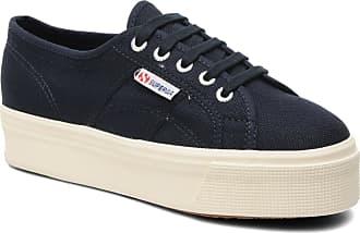 Sneaker W Damen Blau 2790 Superga Plato Cot Linea Für Hn7Oz