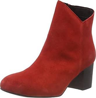cut Damen 44139 V Bianco Eu Boot StiefelettenRotred Suede 0mwNv8n