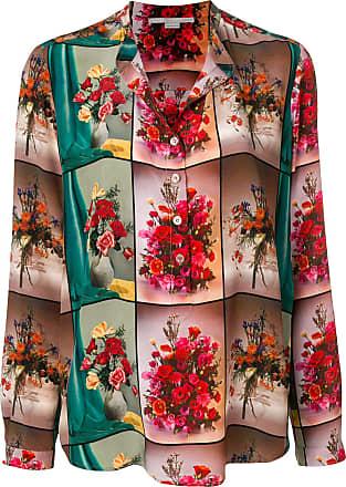Mccartney Floral Stella Shirt Collar Open Multicolore zqOT8