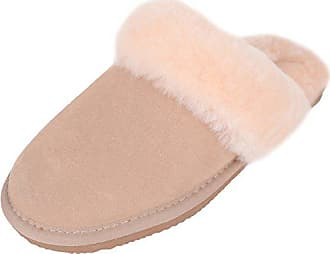 Snugrugs Lightweight 2 Femme With Gris Gris 3 Sole Chaussons Cuff 38 vison Sheepskin And r1xT1I