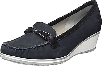 Mocassins New Bleu 02 Ara blau Eu haven 41 Femme E4wTdAqx6