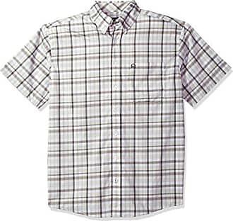 c79191abe42 White Short L Plaid Arenaflex Sleeve Button Cinch Mens Shirt RU70Rf ...