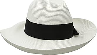 White black Max Protection Womens 50 Rated Physician Packable For Size Straw Adriana Toyo One Endorsed Hat Fedora Sun Upf BOOpqZa