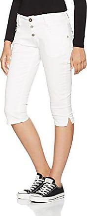 Shorts Slim Timezone White Para pure Mujer Pantalones 4 0100 3 Cortos Kairina Weiß W31 rFIqw4I