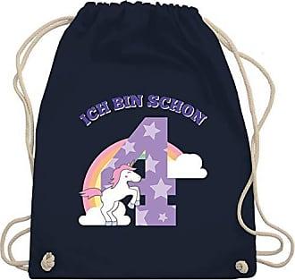 Einhorn Bag Schon 4 Navy Shirtracer Gym Geburtstag Turnbeutelamp; KindIch Wm110 Unisize Bin Blau erdCBxo
