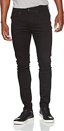 Negro Hombre 38w 130 Para black Vaqueros 32l Super Skinny Menswear Burton London q0Sw4AC